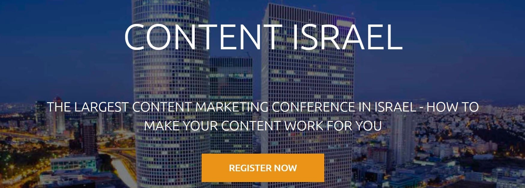 content israel conference