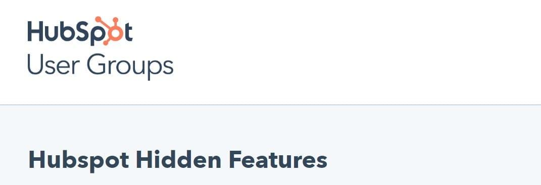 hubspot hidden features