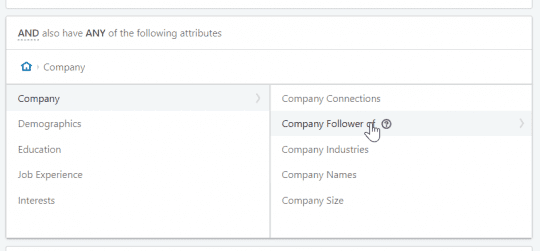 company followers linkedin