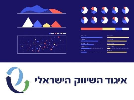 data visualization איגוד השיווק