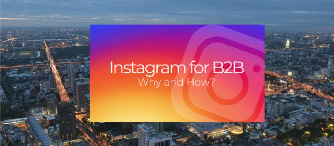 instagram b2b
